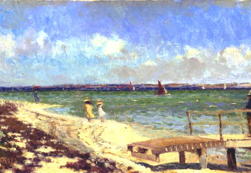 Breezy day Pt Henry W Withers 1900