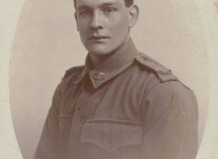 """""""A time to remember"""" Drysdale's Pte. Cecil Lyons"""