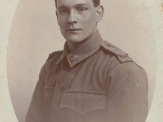 """A time to remember"" Drysdale's Pte. Cecil Lyons"