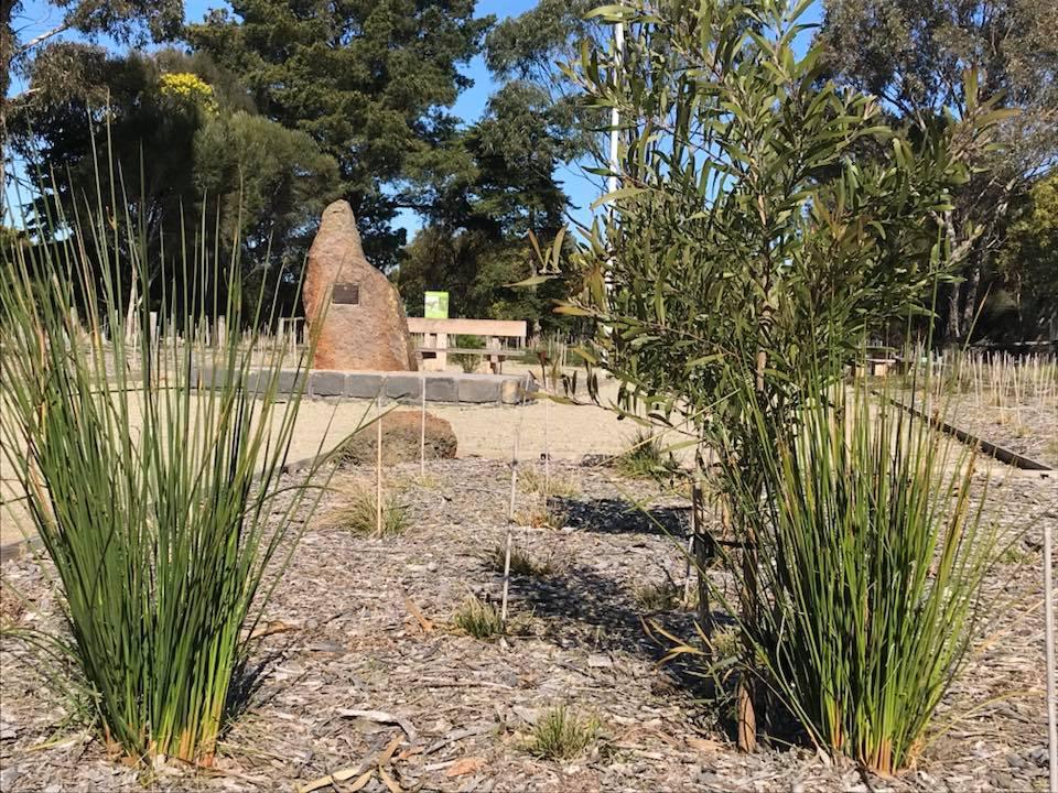 mannerim memorial indigenmous garden