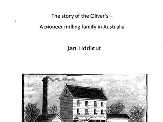 "Guest Speaker ""Portarlington and Bellarine Mills - the Oliver Family connection 11 th August 1."
