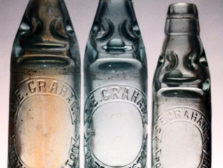 C E Grahams rare Port. bottle