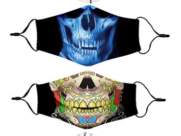 Trending Halloween Face Masks