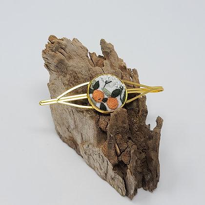 Sweet Orange Fiber Hairpin