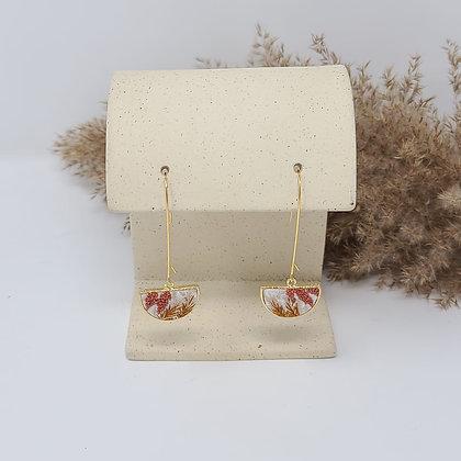 Aria Fiber Earrings