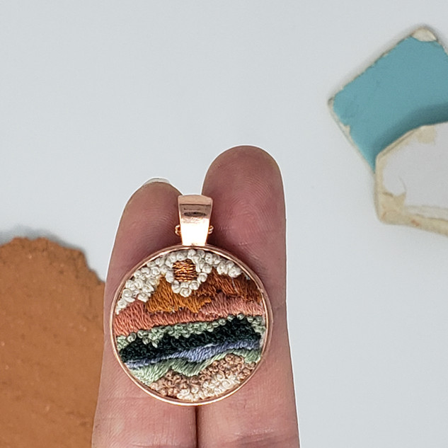 Fiber Pendant by Fearfully Made - Abstra