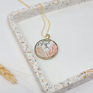 Fiber Pendants by Fearfully Made