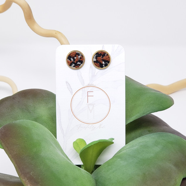 12 Fiber Studs by Fearfully Made - Wildl