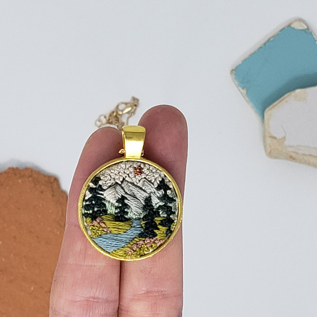 Fiber Pendant by Fearfully Made - Just B