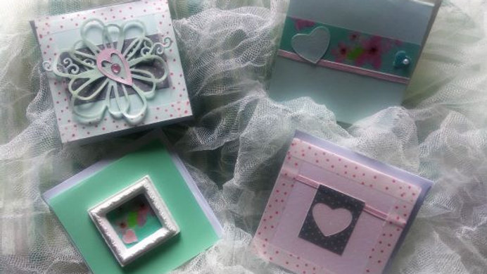 Winter Green and Pink Love - 4 pack