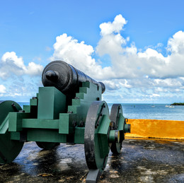 Christiansted, St. Croix -Behind the Walls, Fort Christianvaern