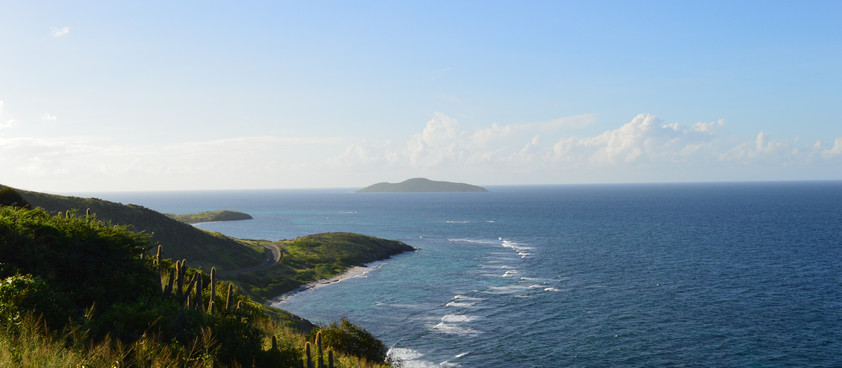 St.Croix, Point Udall. The End of the Road.