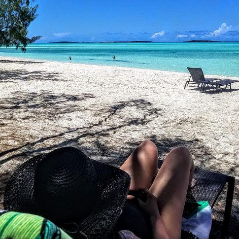 Coc Plum Beach, Exuma, Bahamas