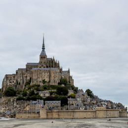 Mont St. Michele, France. If Heaven and Earth Should Meet.