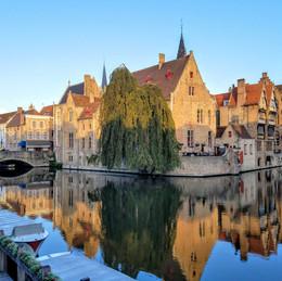 Brugge, Belgium. She's Pretty Alright.