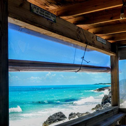 Tropic Breeze Resturant, Little Exuma, Bahamas