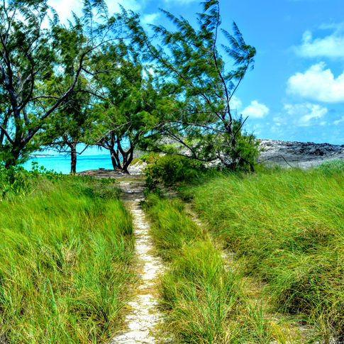 Forbes Hill Beach, Little Exuma, Bahamas