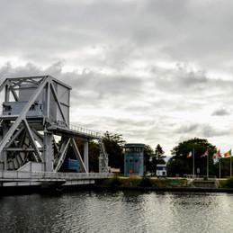 Ranville, France. The Gateway of D-Day, The Pegasus Bridge.