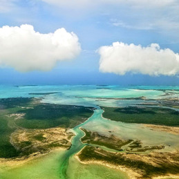 Jade and Emerald Dreams. Exuma, Bahamas