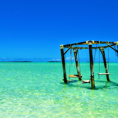 Coco Plum Beach, Exuma, Bahamas