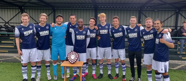 """""""Joining Millwall has allowed us to create a greater platform for LGBT+ players."""" - Paul Loding"""
