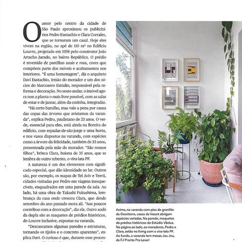 Revista Casa e Jardim Obra Louvre P04 Ab