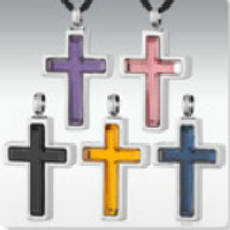 Vitrum Stainless Steel Cross
