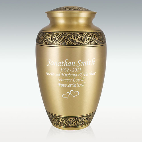 Warm Candlelight Cremation Urn
