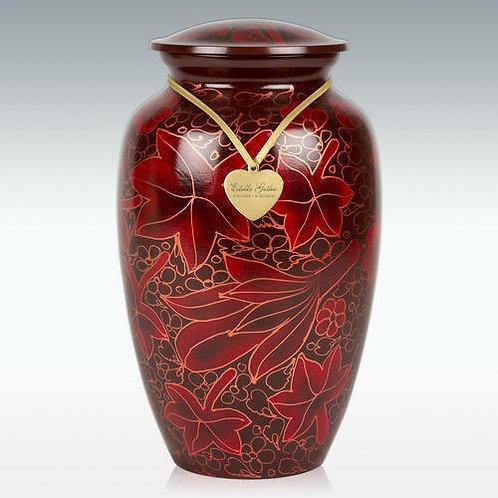 Falling Leaves Cremation Urn