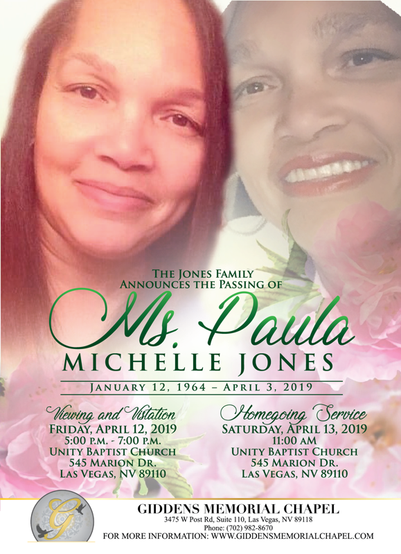 Paula Michelle Jones Announcement.png