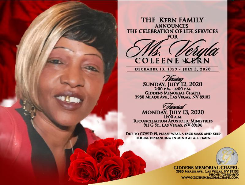 Veryla Coleene Kern  Announcement.png