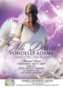 Delita Vondelle Adams Announcement.png