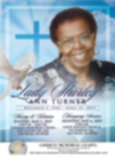 Shirley Ann Turner Announcement.png