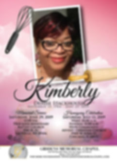 Kimberly Denise Stackhouse Announcement.