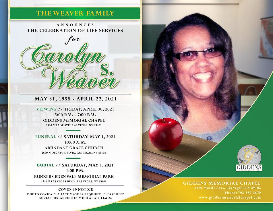 Carolyn S Weaver Announcement.jpg