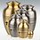 Thumbnail: Classic Grecian Brass or Pewter Cremation Urn