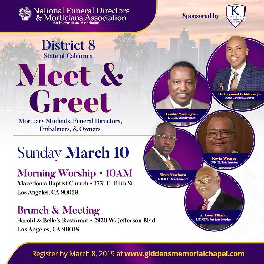 NFD&MA District 8 Meet & Greet