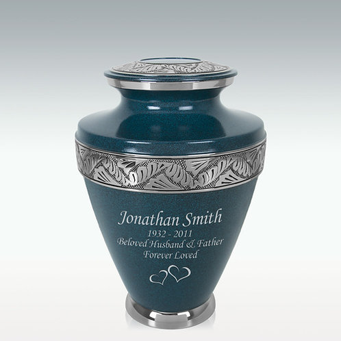Loving Thoughts Brass Cremation Urn