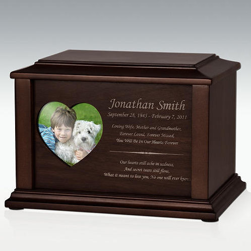 Adoration Photo Cremation Urn