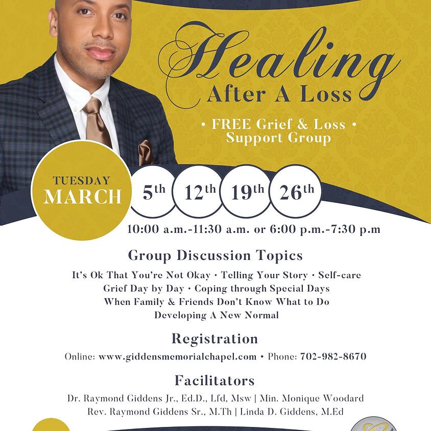 Healing After A Loss