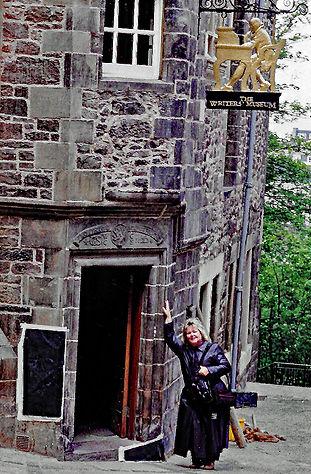 Rob't Louis Stevenson House Edinburgh.jp