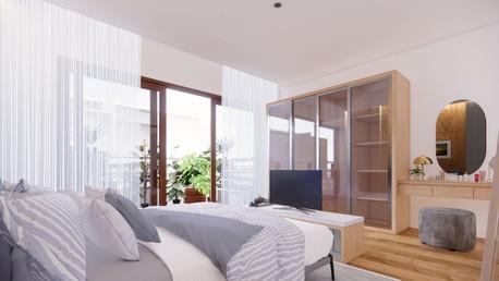 D House Master Bedroom