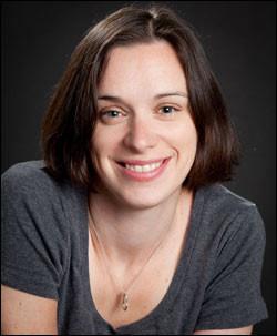 Portrait photo of a woman, author.