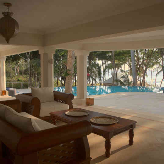 Almanara Luxury Hotel & Villas - The outdoor lounge