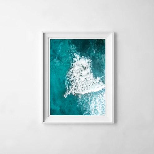 Malibu Surf Print