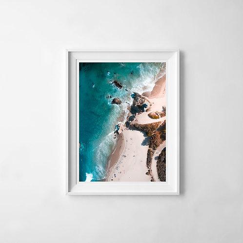 El Matador Beach Print