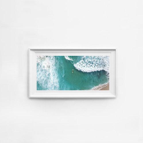Bronte Surfer Panorama Print