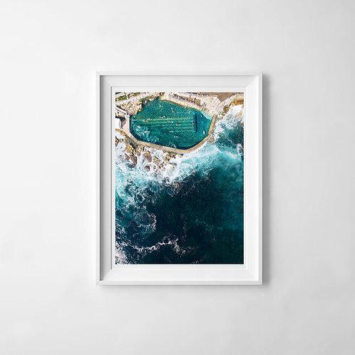 Bronte Rock Pool Print