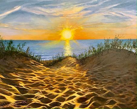 Sunrise in the Dunes_