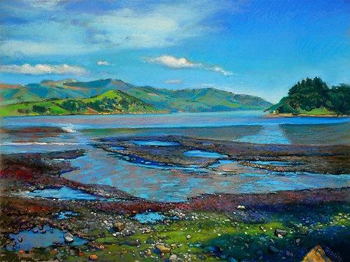 Nelson Bay - pastel